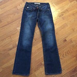 Bug Star like new denim jeans with pocket detail!